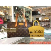 LOUIS VUITTON Monogram Canvas Wilshire PM