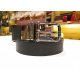 LOUIS VUITTON Boston Glazed Calf Leather Reversible Belt (Size:85/34)