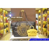 GIANNI VERSACE Leather Two Way Bag