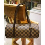 LOUIS VUITTON Damier Ebene Canvas Papillon 30