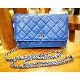 CHANEL Lambskin Wallet On Chain