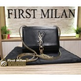 YVES SAINT LAURENT Cassandra Tassel Small In Black