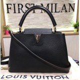 LOUIS VUITTON Taurillon Leather Capucines  PM