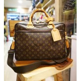 LOUIS VUITTON Monogram Canvas Icare Laptop/Document Bag