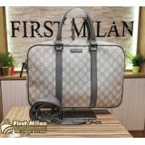 GUCCI GG Supreme Two Way Briefcase