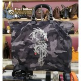 PRADA Tessuto Tattoo Two Way Bag