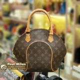 LOUIS VUITTON Monogram Canvas Ellipse PM Handbag