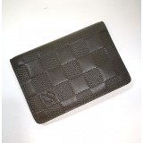 LOUIS VUITTON Damier Infini Leather Pocket Organizer