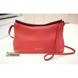 BURBERRY Leah Small Grainy Leather Crossbody Bag