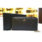 CHANEL Zippy Wallet In Lambskin
