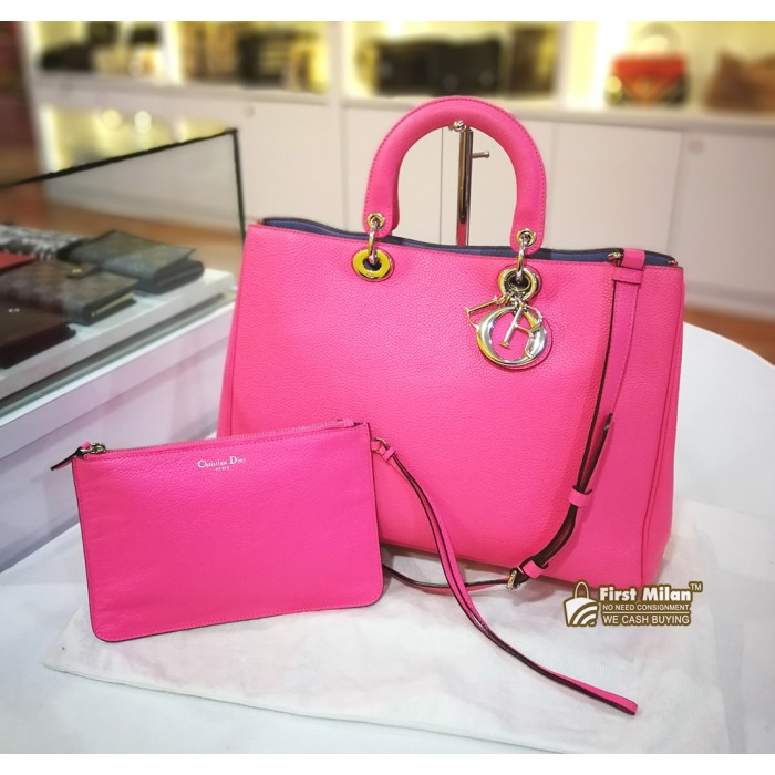 b8c6fdb11 CHRISTIAN DIOR Large Diorissimo Bag