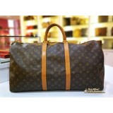 LOUIS VUITTON Monogram Canvas Keepall 55