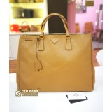 PRADA Saffiano Lux Leather Executive Tote