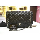 CHANEL Maxi Single Flap Bag in Lambskin