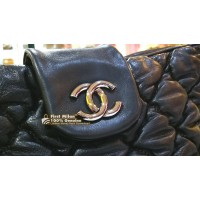 CHANEL Bubble Quilted Tote