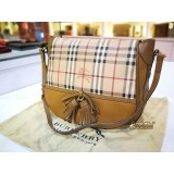 BURBERRY Haymarket Check Shoulder Bag