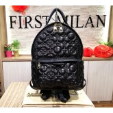 LOUIS VUITTON Palm Springs Malletage Leather PM Backpack