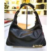 GUCCI Black Horsebit Hobo