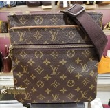 LOUIS VUITTON Monogram Canvas Pochette Valmy Bag