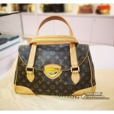 LOUIS VUITTON Monogram Canvas Beverly GM