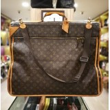 LOUIS VUITTON Monogram portable Cabin Garment-Carrier Bag