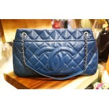 CHANEL Caviar Timeless CC Soft Shopping Tote Bag