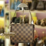 LOUIS VUITTON Damier Ebene Truth Makeup Pouch Bag