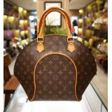 LOUIS VUITTON Monogram Canvas Ellipse Tote Bag