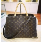 LOUIS VUITTON Monogram Canvas Montaigne GM