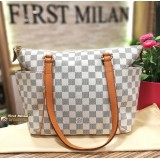 LOUIS VUITTON Damier Azur Totally PM Tote Bag