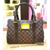 LOUIS VUITTON Damier Ebene Berkeley Bag