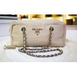 PRADA Leather Chain Bag