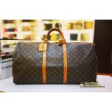 LOUIS VUITTON Monogram Keepall Bandouliere 60 (W/O Strap)