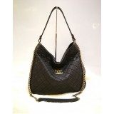 CHANEL Caviar Quilted CC 2way Chain Tote