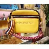 LOUIS VUITTON Flight Bag Savane Yellow