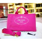 PRADA Canapa Large Tote Bag