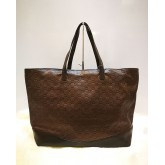 GUCCI Signature Borsa Lido Large Leather Tote