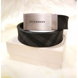 BURBERRY Smoke Check Belt (Size:95cm)