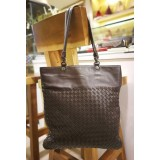 BOTTEGA Veneta Brown Shoulder Bag