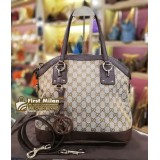 GUCCI Charm Top Handle Bag
