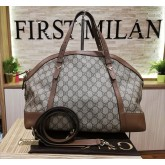 GUCCI Nice Guccissima Top Handle Bag