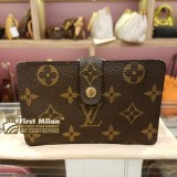 LOUIS VUITTON Monogram Canvas French Purse