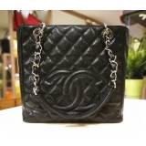 CHANEL Caviar Petite Shopping In SHW (PST)