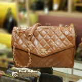 CHANEL Jumbo Vintage Flap Bag In Lambskin
