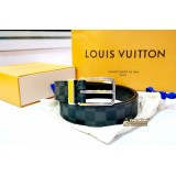 LOUIS VUITTON Damier Graphite Pont Neuf 35 MM (Size:85/34)