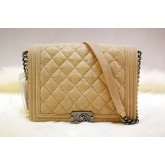 CHANEL New Medium Le Boy In Suede Leather