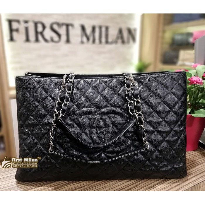 8e91ca7d7cd75b CHANEL Grand Shopping Tote XL (SHW)