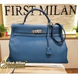 HERMES Kelly 40 Togo Leather Bag