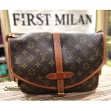 LOUIS VUITTON Monogram Canvas Saumur PM