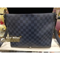 LOUIS VUITTON Damier Cobalt Newport Messenger MM